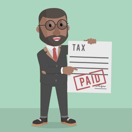 paid: businessman tax paid
