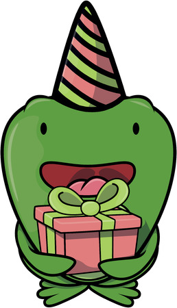birthday party: frog using birthday party costume
