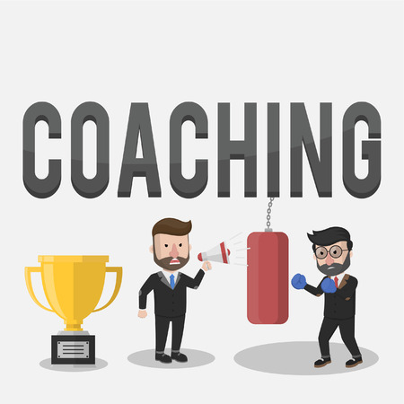 rigorous: Coaching giving rigorous training for the trophy