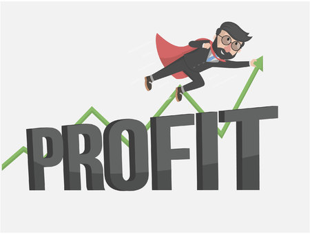 force employers in profit Vetores
