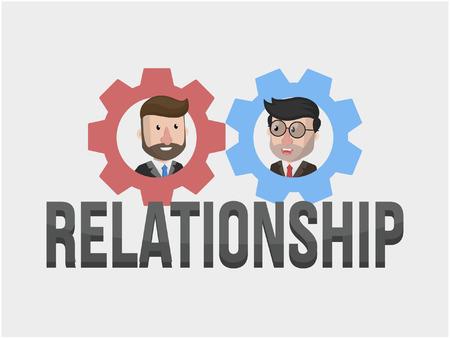 business relationship: relationship businessman