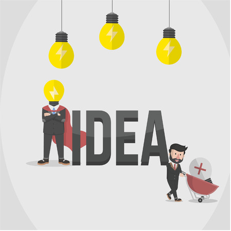 employers: employers have the power to get the idea Illustration