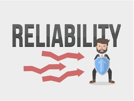 reliability: reliability business man