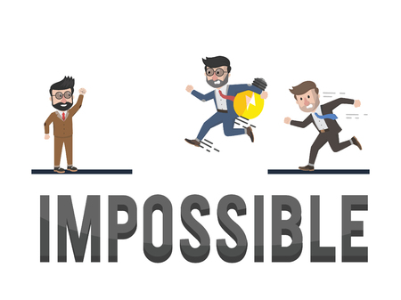 employers: employers to do the impossible illustration design Illustration