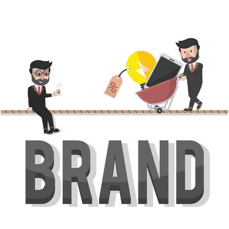 entrepreneurs: brand entrepreneurs illustration design Illustration