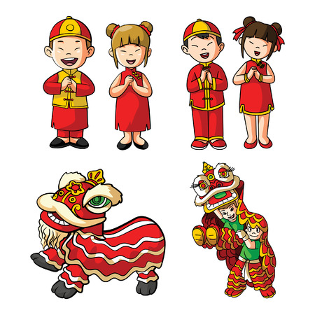 chinese illustration design collection