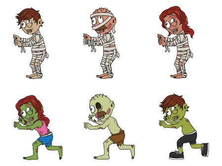 undead: undead illustration design collection Illustration