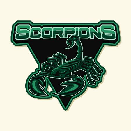 cartoon scorpion: scorpion illustration design