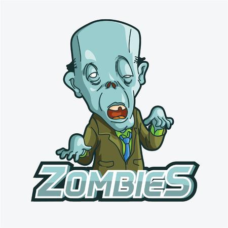 maggot: zombies illustration design colorful