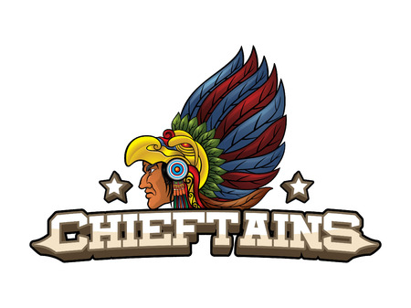 chieftains banner illustration design