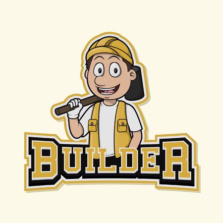 builder  illustration design
