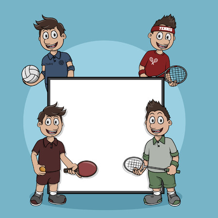 net sport sign illustration design