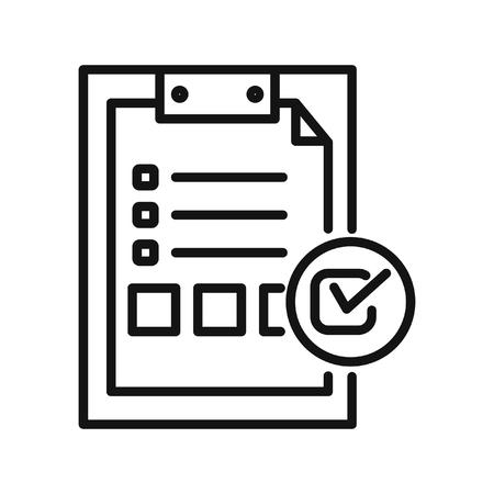feature: features list vector illustration design