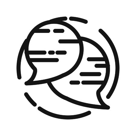 speech buble: speech buble vector illustration design Illustration