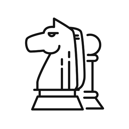 pion: chess strategy vector illustration design