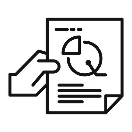 financial data vector illustration design