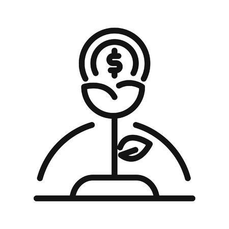 growth: money growth vector illustration design Illustration