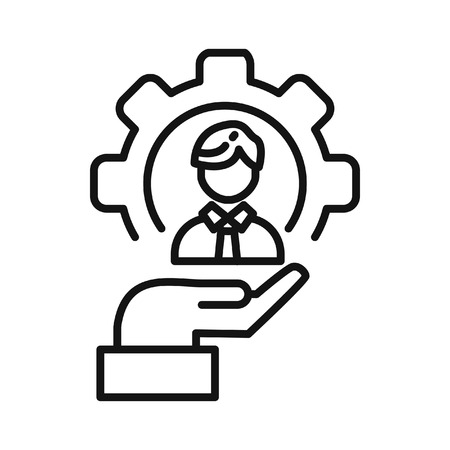 resource: human resource vector illustration design
