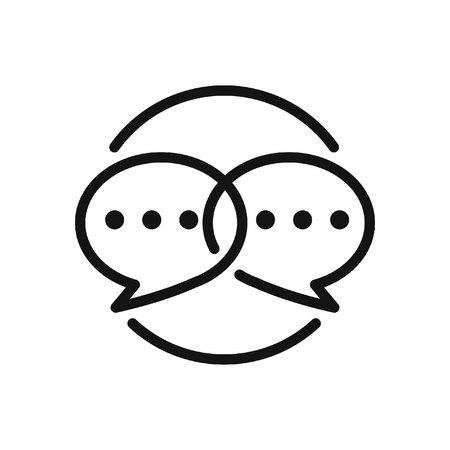 soziales Engagement Vektor-Illustration Design