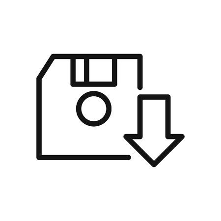 diskette: save game diskette  illustration design Illustration