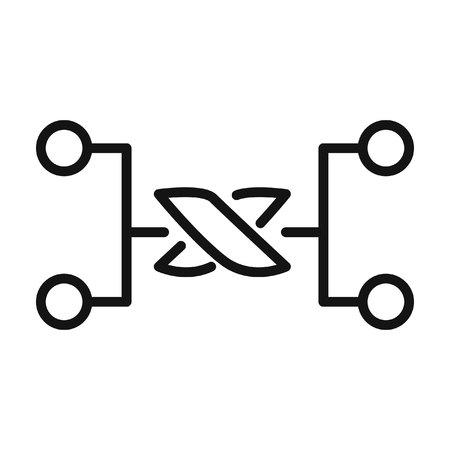 node: communication node  illustration design