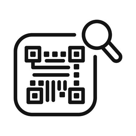 código de seguimiento, ilustración, diseño Ilustración de vector