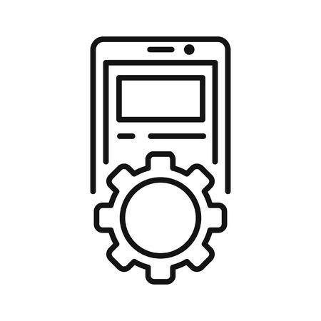 device: device setting vector illustration design Illustration