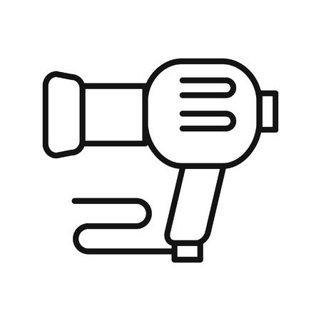 dryer: blow dryer vector illustration design Illustration