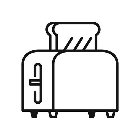 broodrooster vectorillustratieontwerp Vector Illustratie