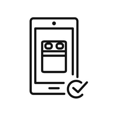 booking: online booking vector illustration design