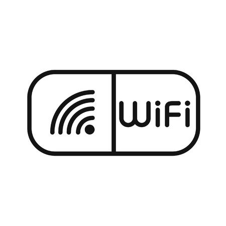 hotspot: wifi hotspot illustration design