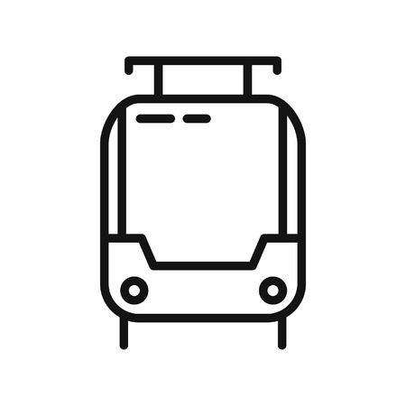 tramway: tramway vector illustration design