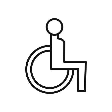 accessibility: accessibility for disabled icon Illustration