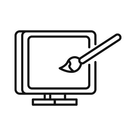 computer art: computer art illustration design