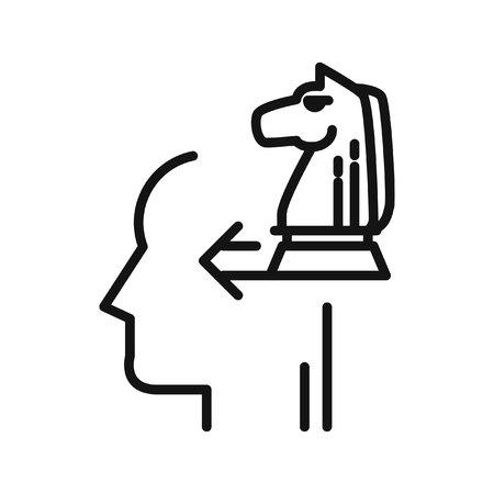 pensamiento estrategico: pensamiento estratégico, ilustración, diseño