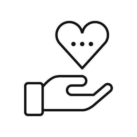 empatia: empatía sensación de ilustración, diseño Vectores