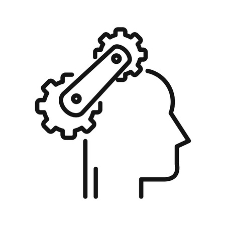 cognitive process illustration design