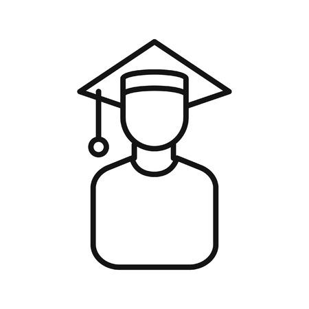 scholar: graduate scholar illustration design