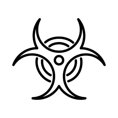 biological hazard illustration design