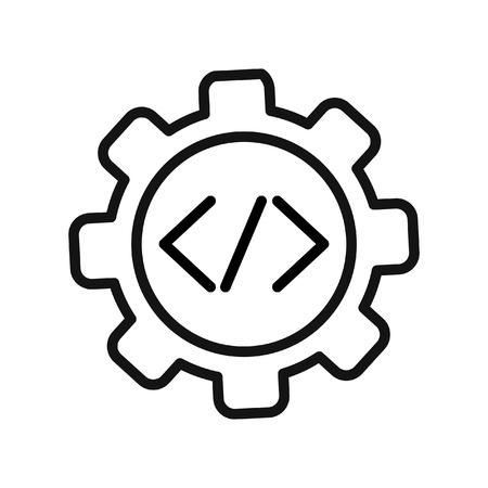 code engineering illustration design Illustration