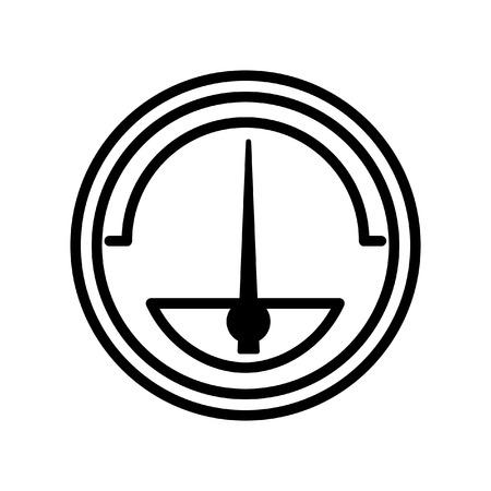 air gauge: pressure meter illustration design