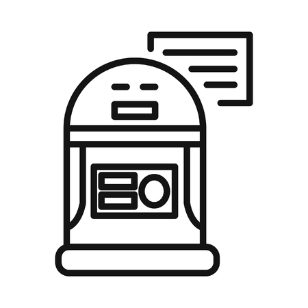 droid: personal droid illustration design Illustration
