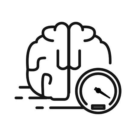 faster: faster thinking illustration design