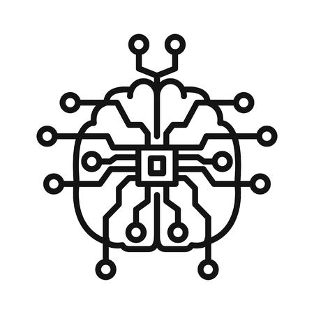 artifical: artifical intelligence illustration design