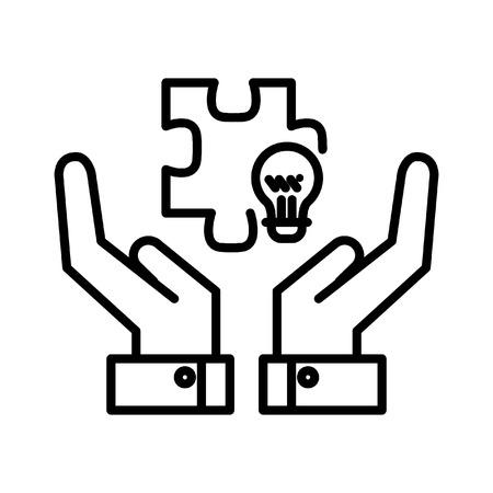 provider: solution provider illustration design