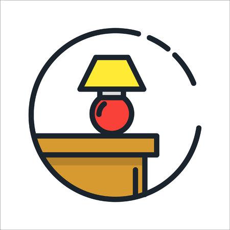 home furniture: home furniture icon color