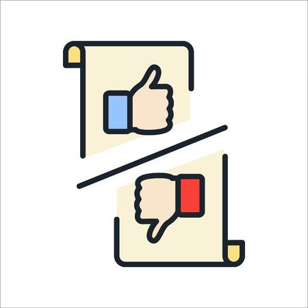 feedback icon color illustration design Ilustração