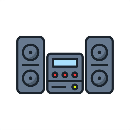 audio system icon color