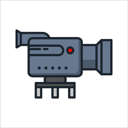 video camera icon color