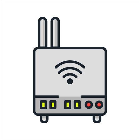 wifi router icon color